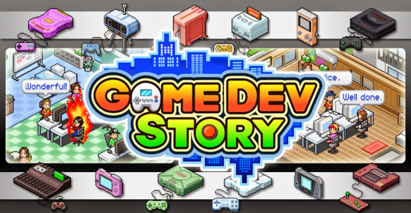 Game Dev Story Apk v1.1.9 For Android | Free Games Download