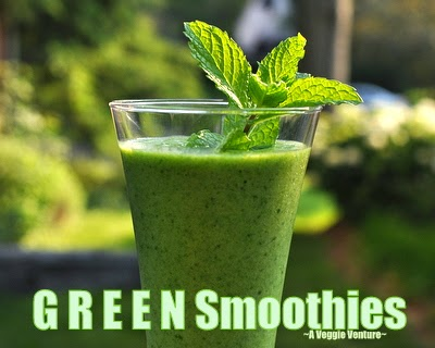 How to make Green Smoothies, Fourteen Tips plus Five Sample Recipes to create your own delicious, healthy smoothies.