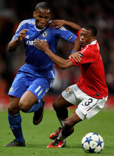 Manchester United Champions League patrice evra