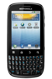 Motorola Fire QWERTY Android Phone with Touchscreen