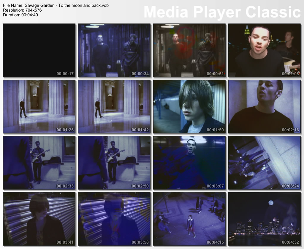 Videos Musicales Savage Garden To The Moon And Back