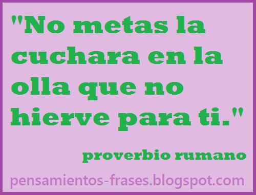proverbio rumano