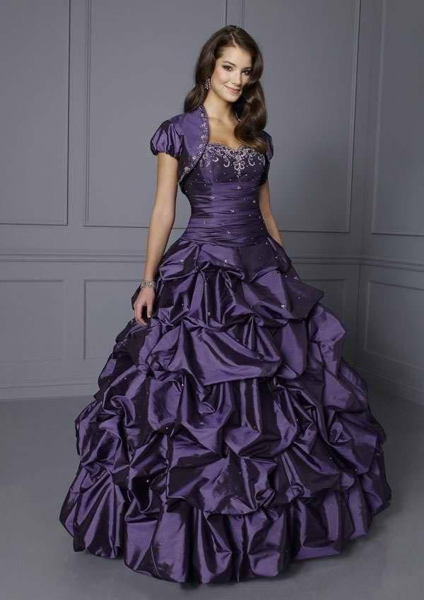 Wedding Dresses Color Purple : Color wedding dresses design fashion world of