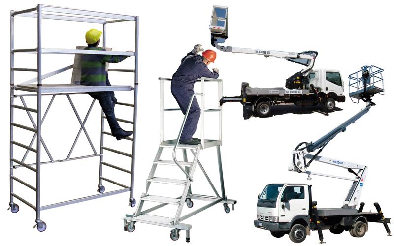 Seguridad industrial alturas y salud ocupacional - Escaleras de trabajo ...