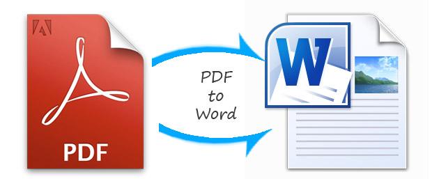 Cómo convertir pdf a word