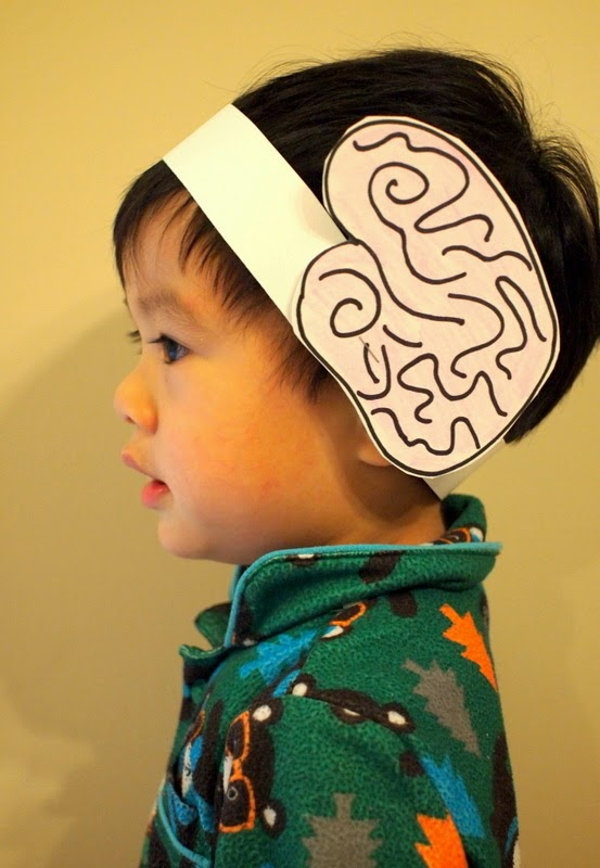 make a brain headband