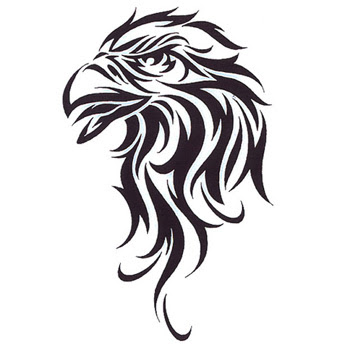 eagle tribal tattoo most popular design