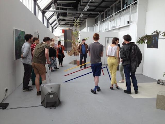 Kingston University BA Fine Art show 2014