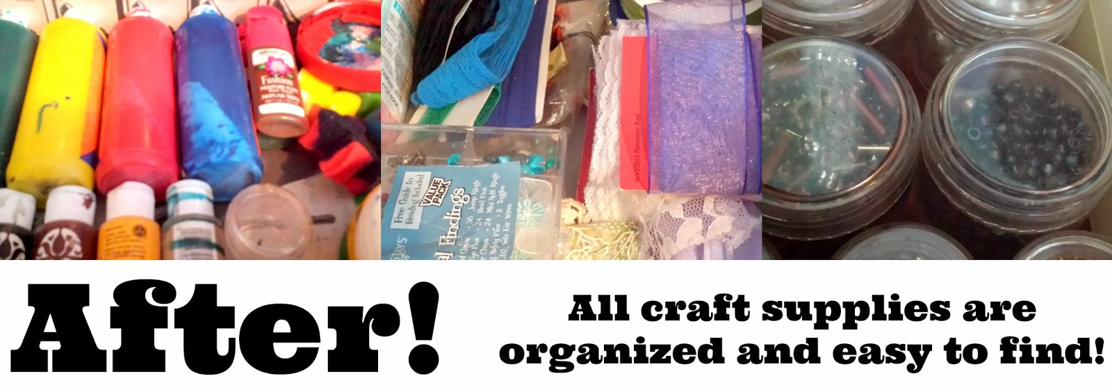 Organize your crafts