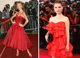 fotos de modelos de vestidos de famosas