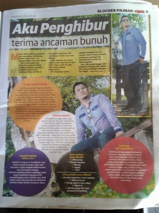 Blogger Pilihan Utusan Malaysia 16/3/13