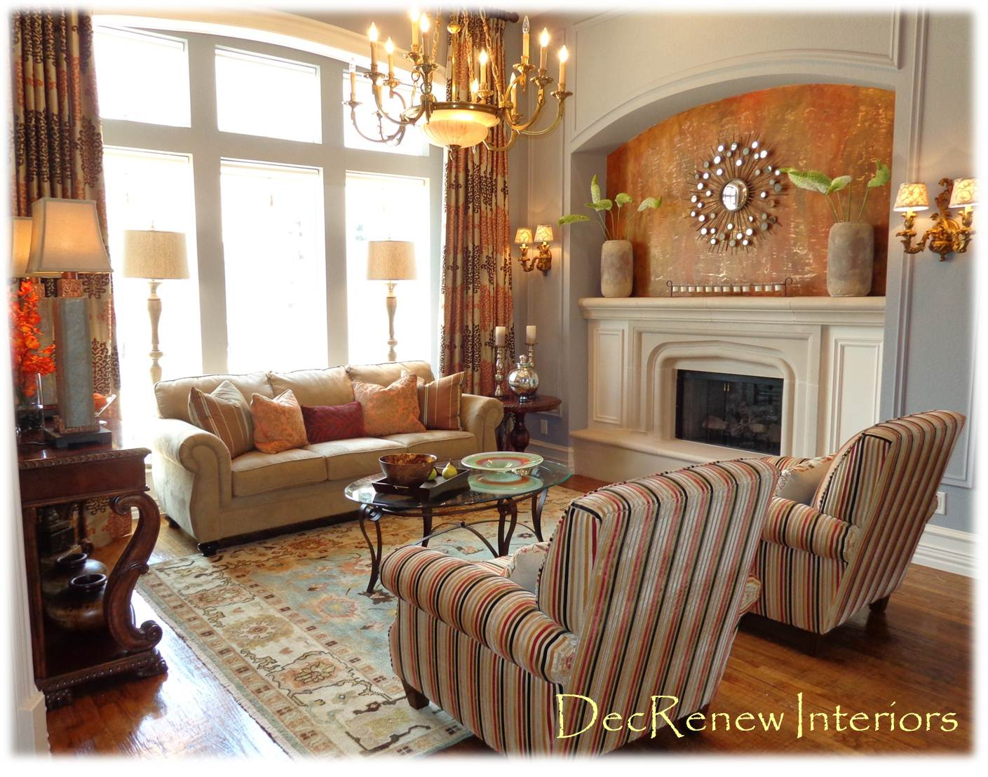 Living Room Design Warm Living Room Interior Designs