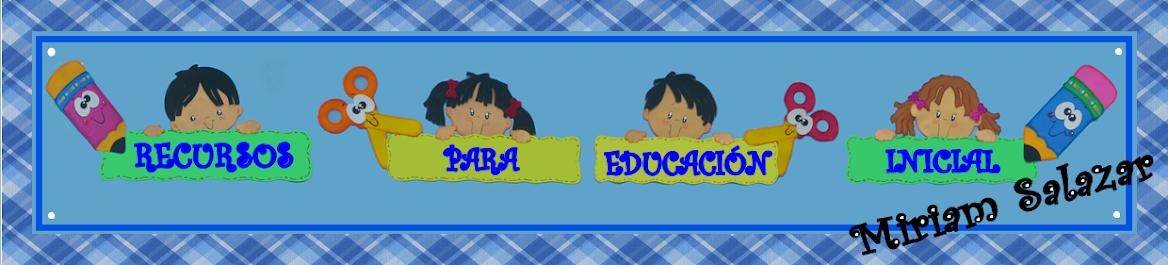 recursos para educación inicial