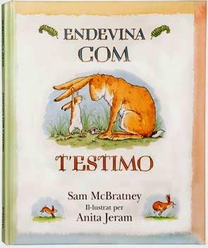 Llibre infantil imprescindible Endevina com t'estimo
