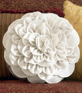 Dahlia flower cushion sewing tutorial