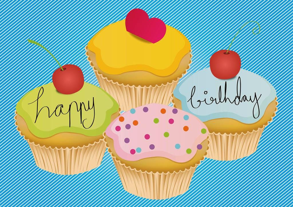 Gambar Kartu Ultah Lucu Kue Ulang Tahun Happy Birthday