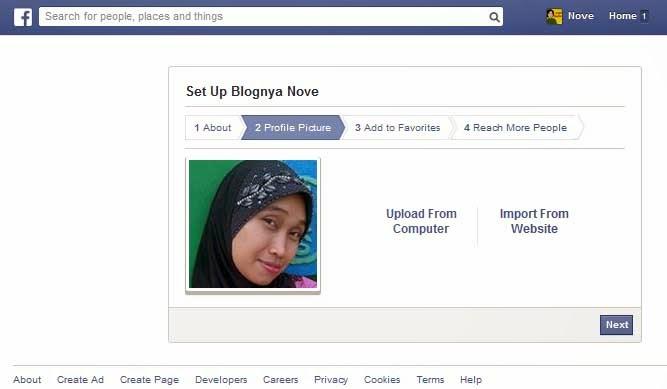 Cara Membuat FanPage Facebook Dan Memasangnya Di Blogspot 2