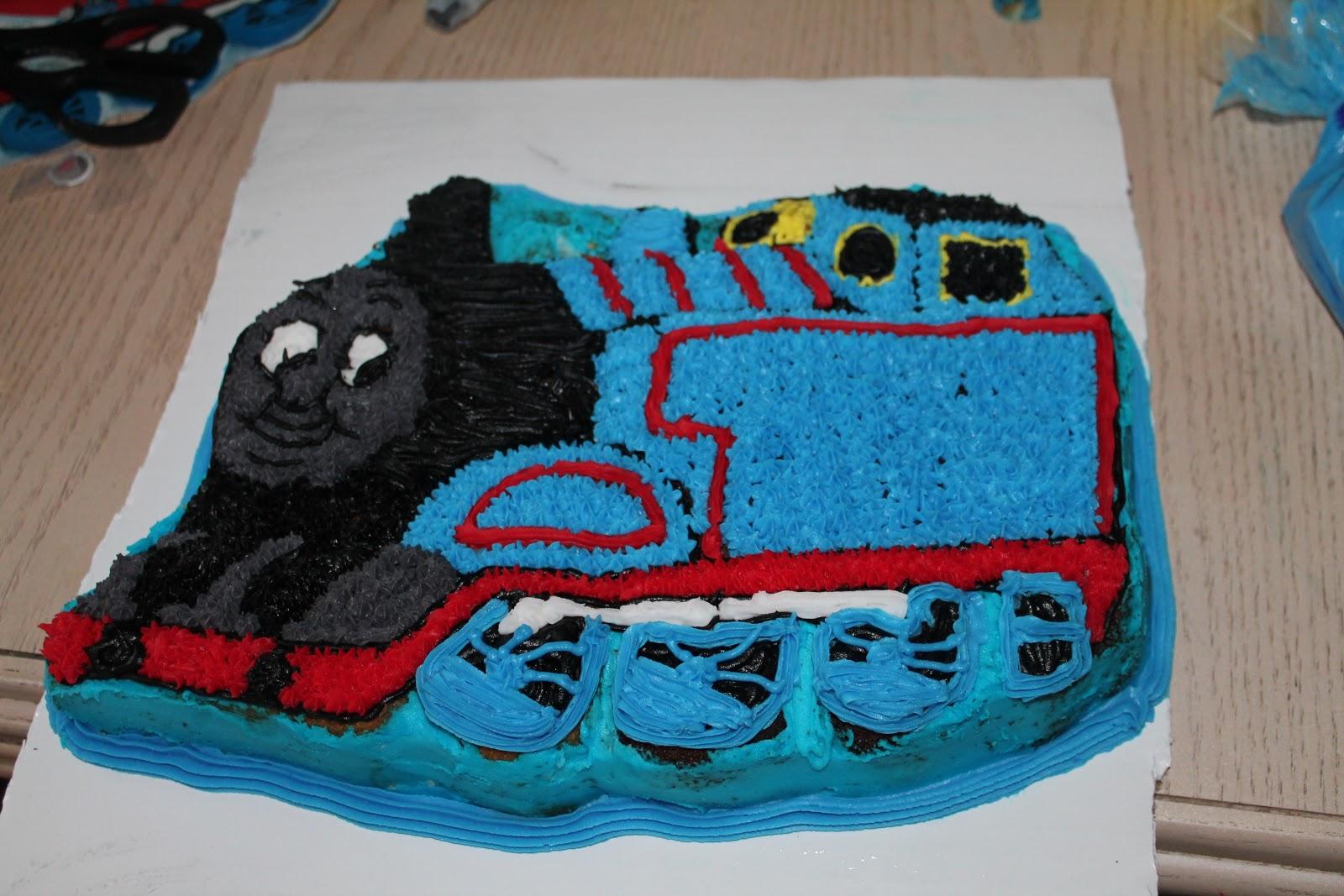 A Little Bit Of Everything Thomas Birthday Cake