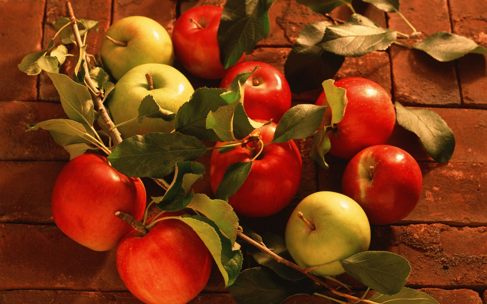 Manzanas verdes y rojas | Green and Red Apples