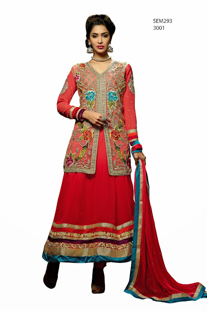 Traditional | New Arrival Heavy Embroidered Designer Long Anarkali Suit