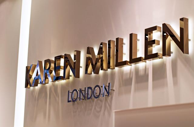 Karen Millen store opening Luxembourg city