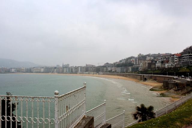 Vistas de la bahía de la Concha