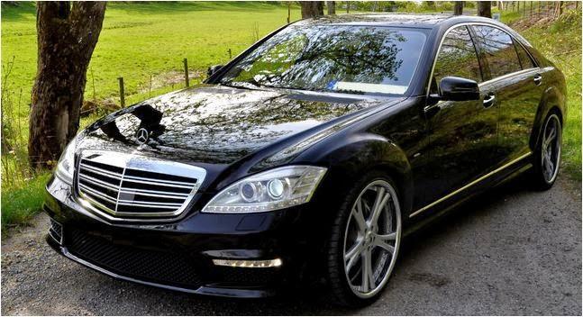 Cho thuê xe hạng sang VIP Mercedes S550 tại Hà Nội
