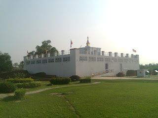 White Temple mandir lumbini nepal