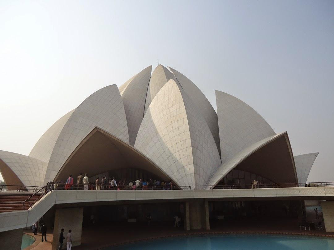 World Wondering 15 Wonder The Lotus Temple