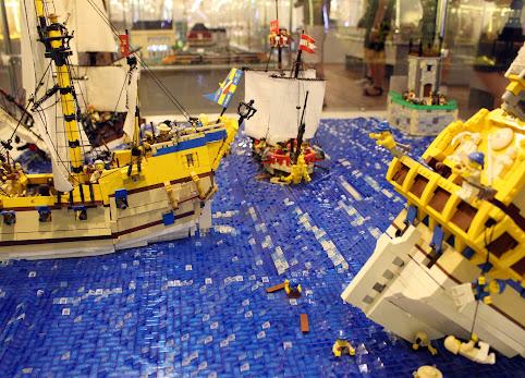 Wakacje z Basią - Wystawa budowli klocków LEGO