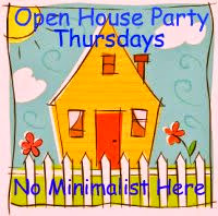 OPEN HOUSE THURSDAYS AT NO MINIMALIST HERE