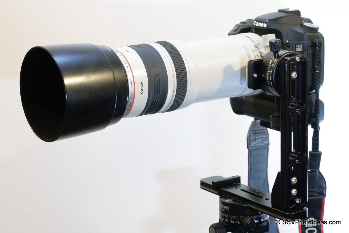 Canon EOS 50D / EF 100-400 L IS USM on Panorama Head Ver I horizontal left