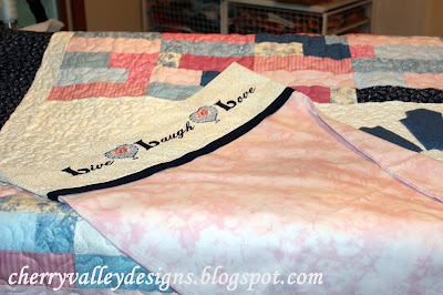 Megan Ziegler Cherry Valley Designs Longarm Quilting