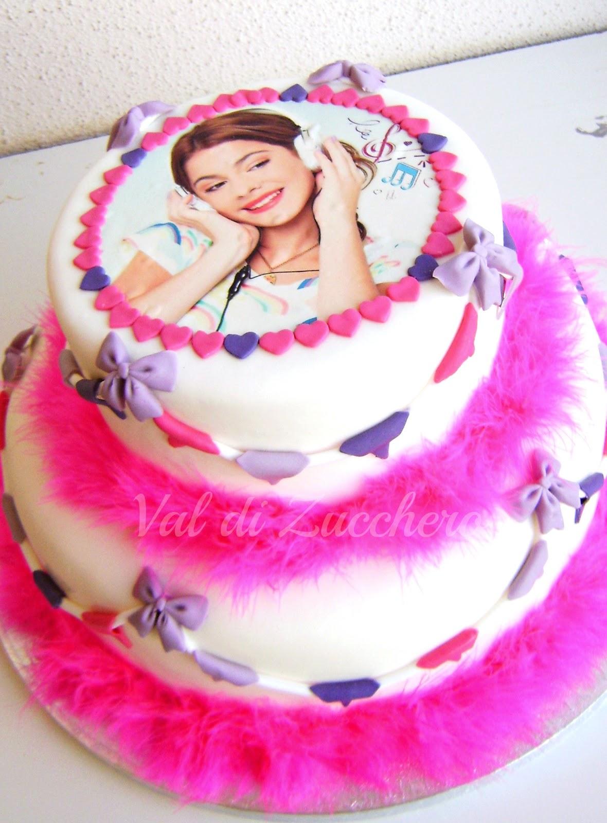 Cake Design Di Violetta : Val di zucchero: One direction e Violetta