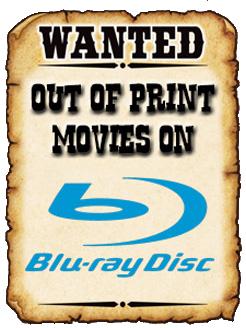 WANTED ON BLU-RAY!