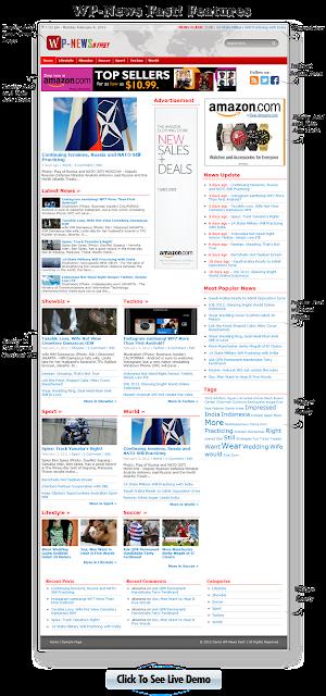 WP-News Fast - Fast Loading and SEO Optimized WP-Theme