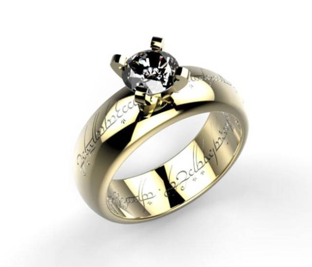 nerd ideas wedding rings awesome of ring engagement attachment nerdy collection
