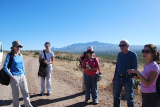 A guide from No More Deaths talks to a Foundry VIM team in the Sonoran desert south of Tucson in 2009.