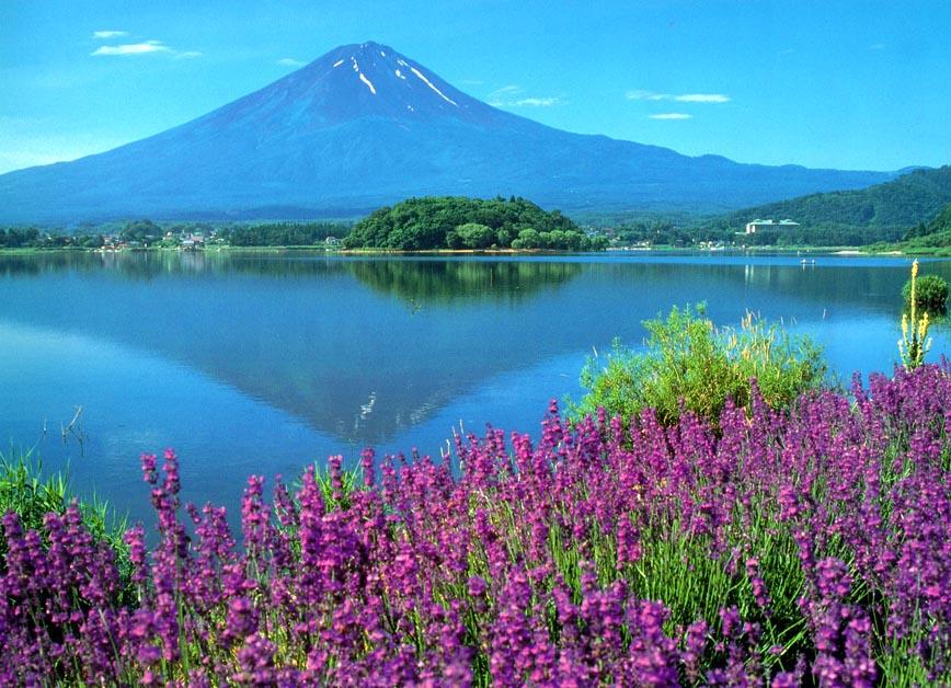 World Beautifull Places Beautiful Places Mount Fuji Japan