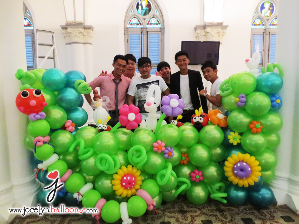 Balloons decorations ideas dream house experience for Decoration balloon