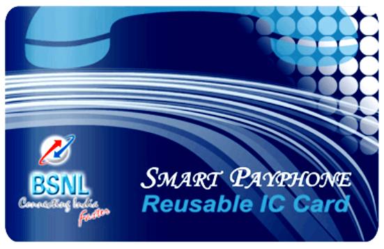 BSNL to launch Smart Card Payphone (Smart PCO) Service in Kerala, Karnataka and Andhra Pradesh circles