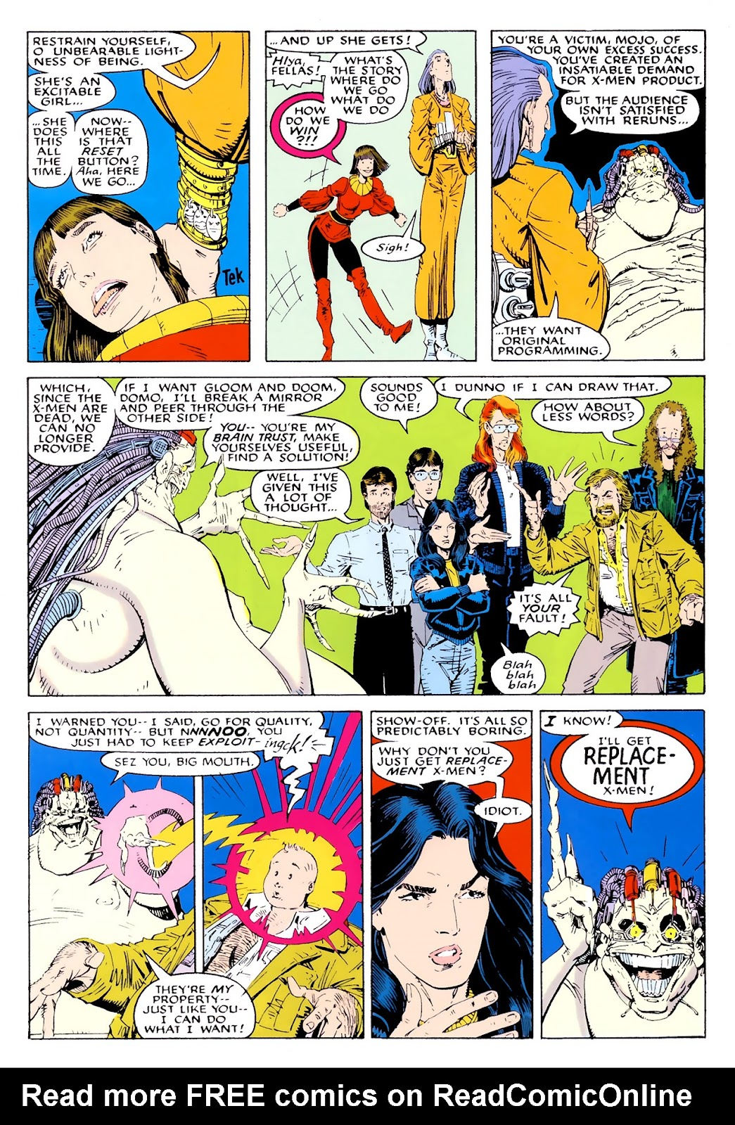 Read online X-Babies comic -  Issue #1 - 28