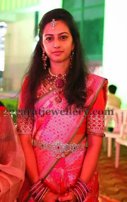 Balakrishna Daughter Tejaswini Speechless Jewelry