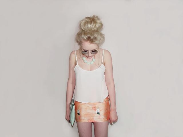 Sammi Jackson - Pink Flamingo Skirt