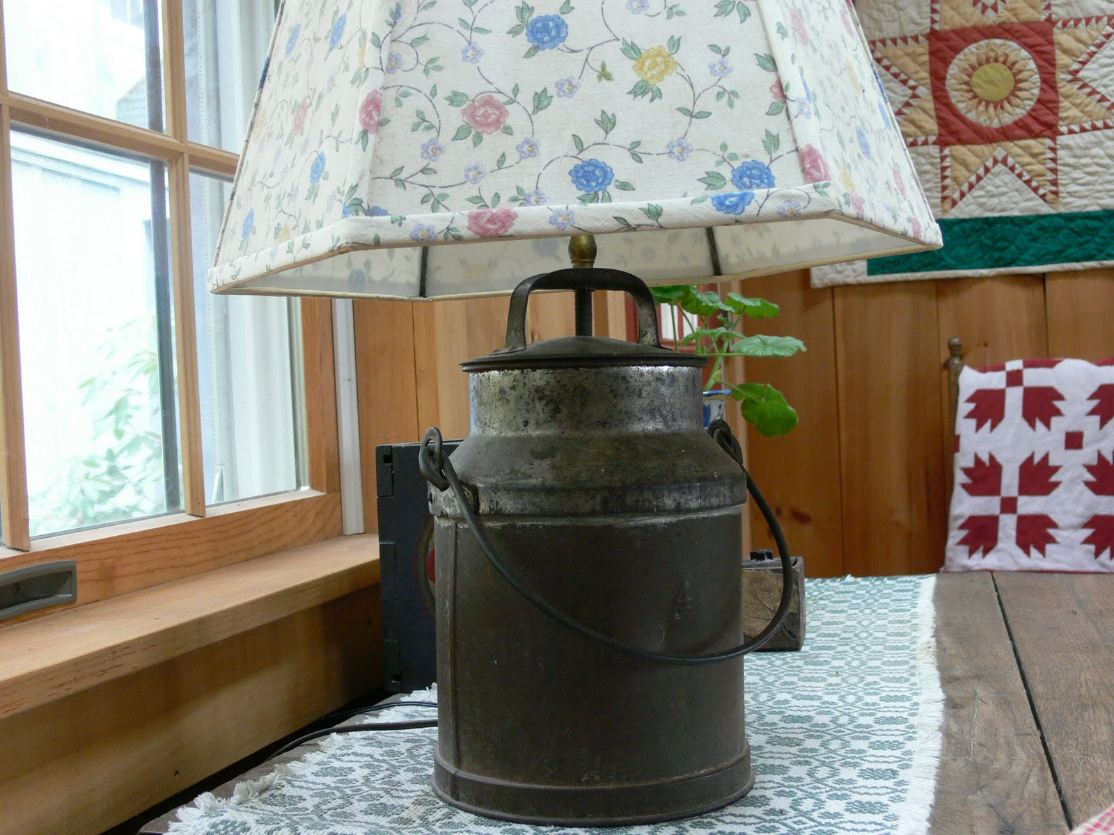 Repurposing old milk cans just b cause for Repurposed milk cans