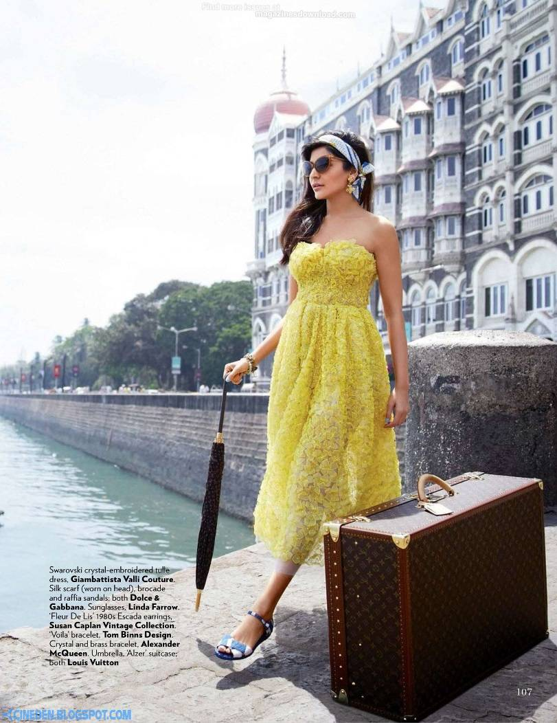 Anushka Sharma on Vogue India Magazine July 2013 - CineDen
