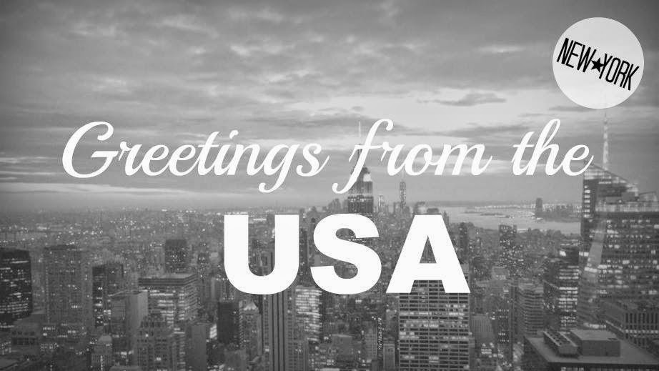 Greetings from the USA