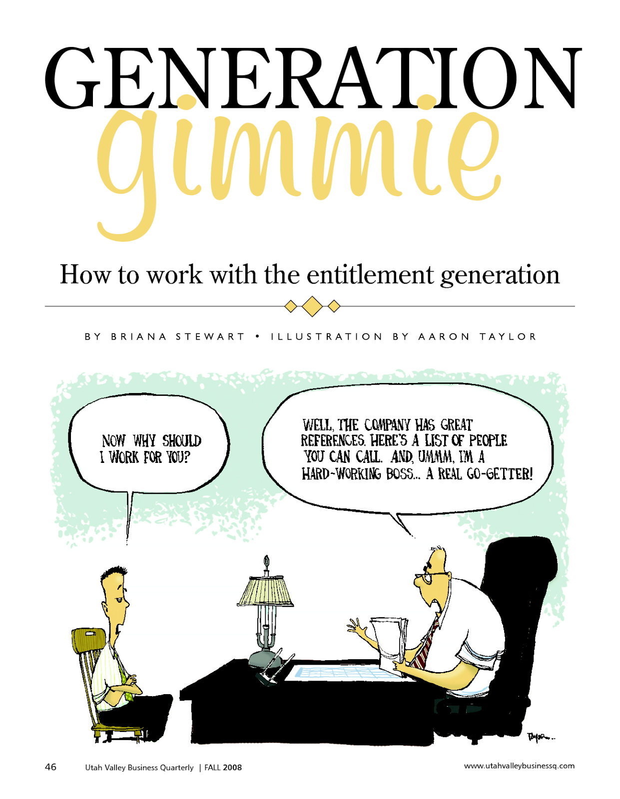 the viz the entitlement generation the viz