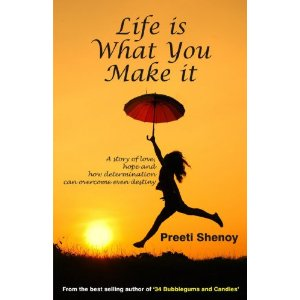 BEST OFFER, BEST DISCOUNT, BEST DISCOUNT ON BOOKS, LIFE IS WHAT YOU MAKE IT, PREETI SHENOY