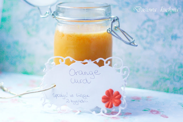 orange curd, przepis na orange curd, lemon curd